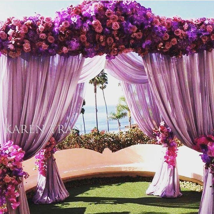 Purple Wedding Arch Decoration Ideas: 1131 Best Purple / Lavender Weddings Images On Pinterest