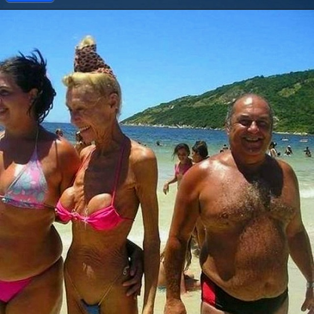 Ever wonder what happens to breast implants when you get old?