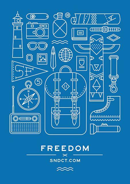 freedom by Ooli Mos, via Flickr