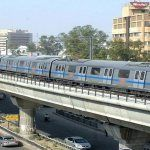 Delhi Metro train service slow down, people suffered..