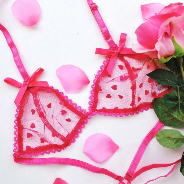 36 Best Images About Valentine's Day Pink Lingerie On