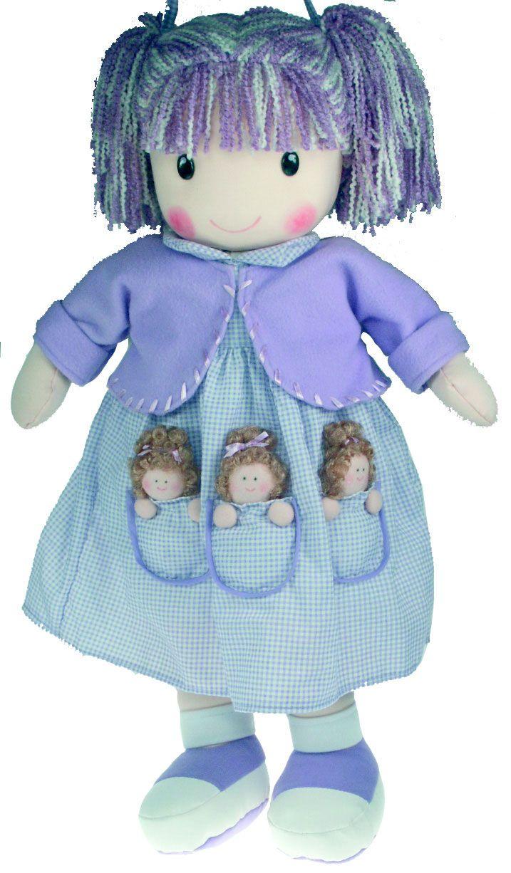 muñecas con patrones, muy interesante