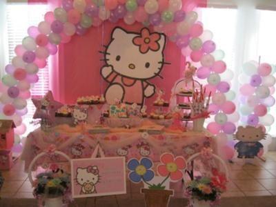 Hello kitty birthday party ideas - 2