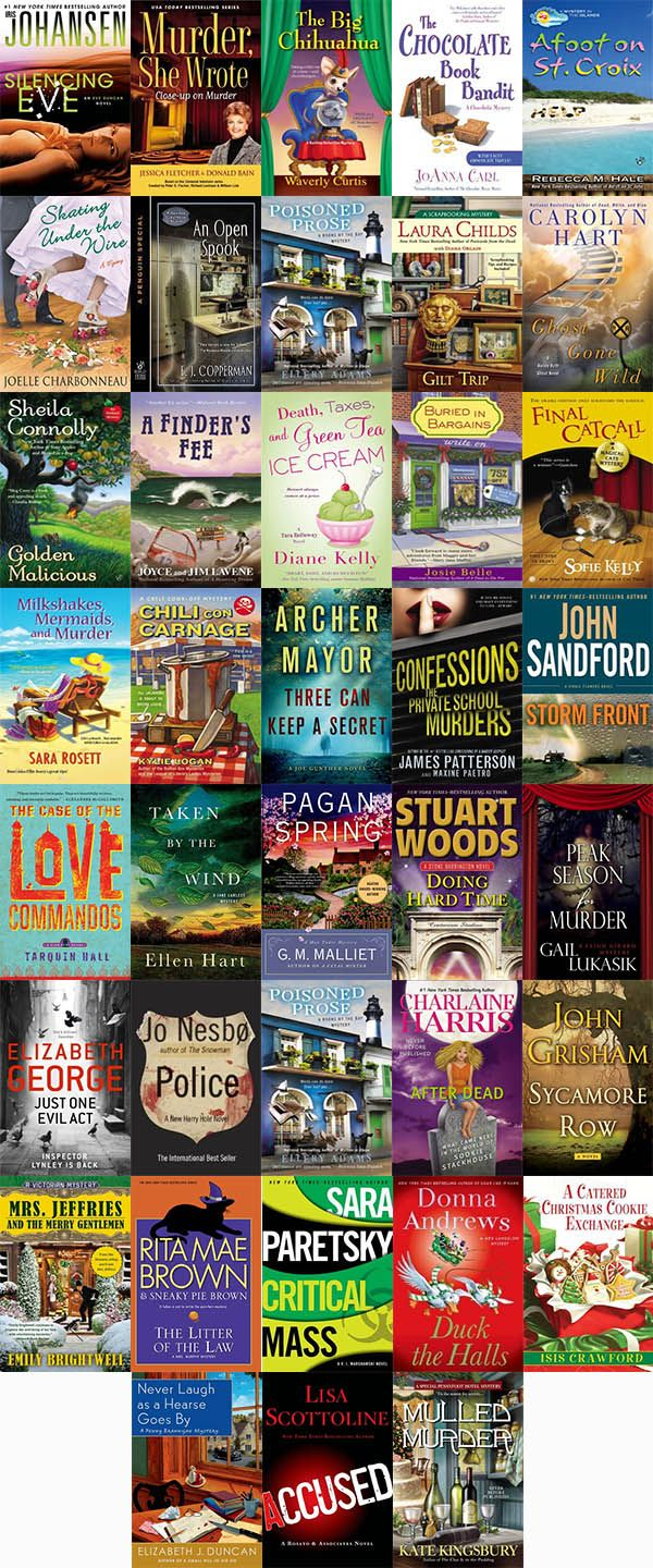 New mystery novels published October 2013 http://www.mysterysequels.com/new-mystery-books-releases-for-october-2013.html