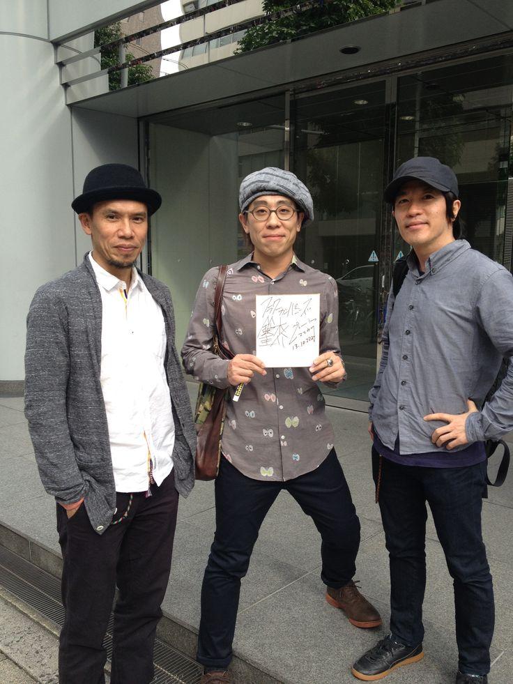 鈴木圭介さん、グレートマエカワさん @fm802 フラカン