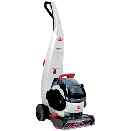 With the BISSELL PowerWash Lift-Off Deep Cleaning System you get the power of an upright carpet cleaner and the convenience of a removable cleaner. The easy-to-detach portable spot cleaner is great for spots and stains, stairs, upholstery, and even auto interiors.