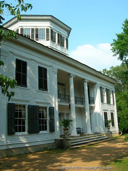 Waverley Mansion - Antebellum Plantation Home near Columbus, Lowndes County, Mississippi