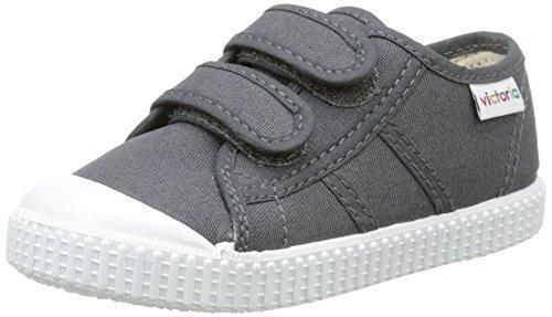 Oferta: 32.5€ Dto: -9%. Comprar Ofertas de VictoriaBasket Lona Dos Velcros - Zapatillas de Deporte Niños-Niñas , Gris (Gris (16 Antracita)), 25 barato. ¡Mira las ofertas!