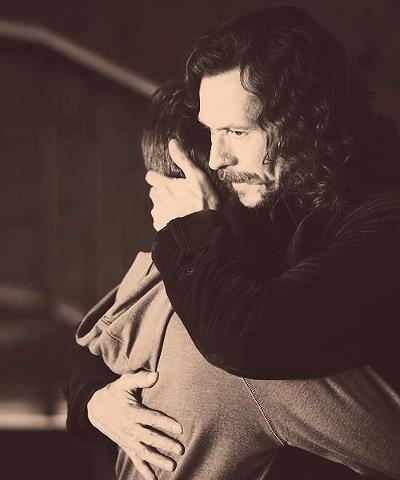 Harry Potter and Sirius Black.  So much love... ;-(