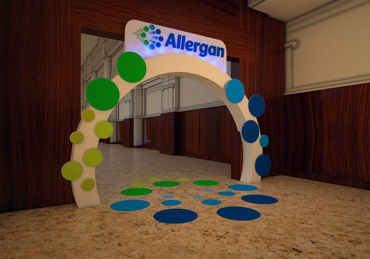 Allergan Botox Event on Behance