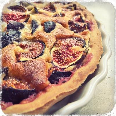 Figs and Almond Cream Tart