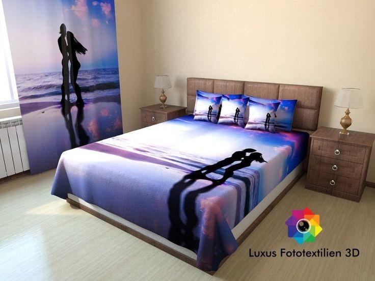 Foto-Tagesdecke Bettüberwurf Sofaüberwurf in Luxus Fotodruck 3D Maßanfertigung