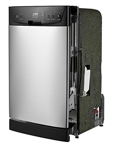 "SPT SD-9252SS Energy Star 18"" Built-In Dishwasher, Stainless Steel, 2016 Amazon Top Rated Dishwashers  #Appliances"