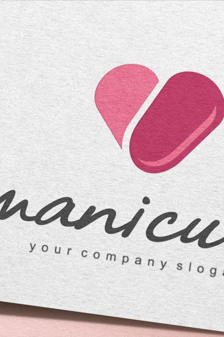 Manicure Logo Manicure, Nail logo, Vector logo design