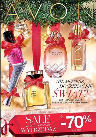 Szaleństwo przedświątecznych zakupów rozpoczęte! I to w jakim stylu. Sprawdźcie jakie nowości i  promocje czekają na Was w najnowszym KATALOGU AVON 16/2015 . To świetny moment na zaopatrzenie się w bożonarodzeniowe upominki dla całej rodziny. http://www.lubieavon.pl/katalog-avon-16-2015.html