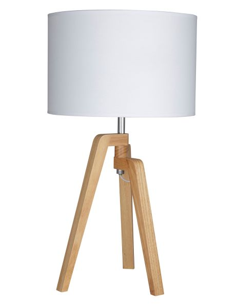 Add a modern statement to your living area with this sophisticated Oslo table lamp from the Amalfi range.