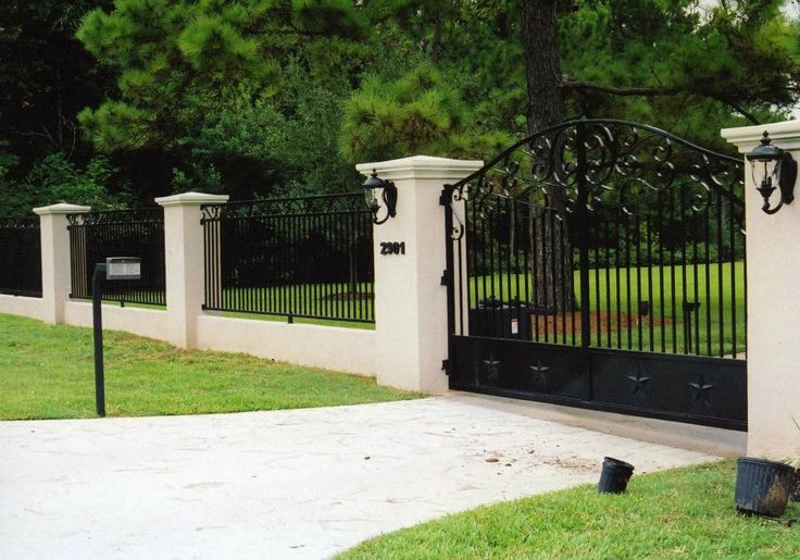 75 Best Images About Concrete Fence On Pinterest Fence