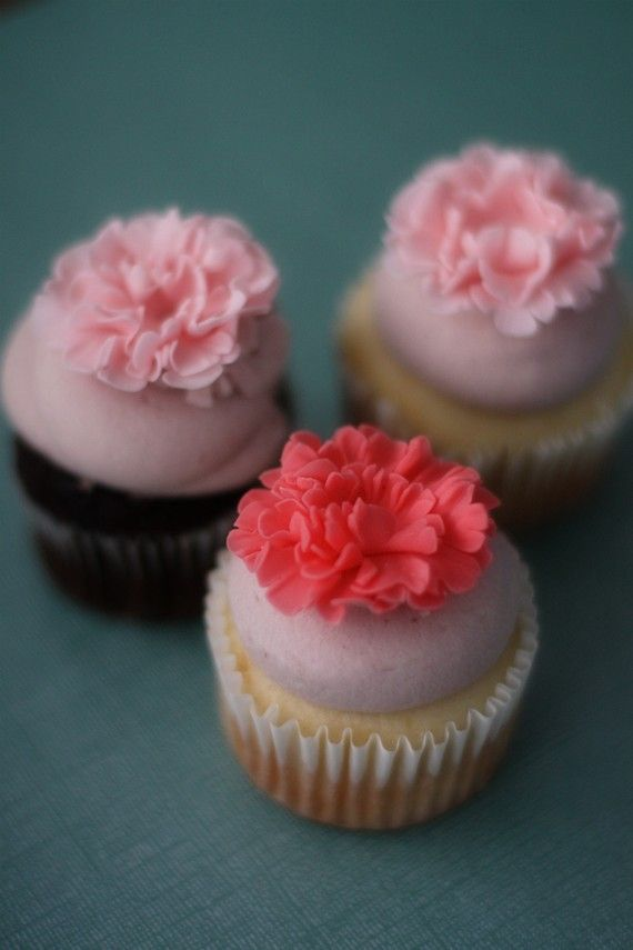 17 Best Images About Carnation Cakes On Pinterest White