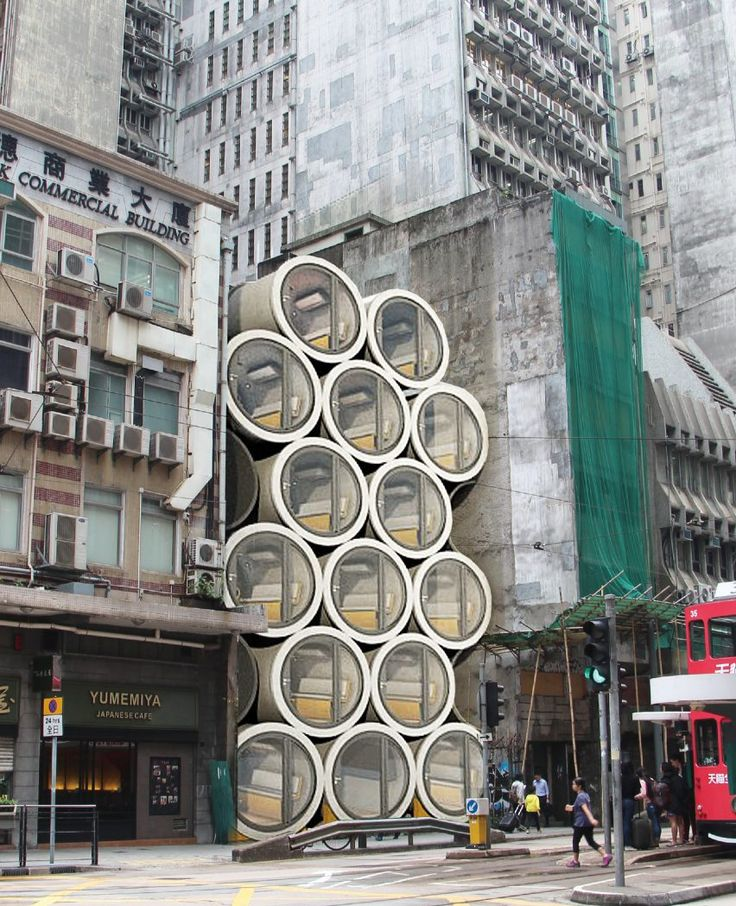 Home Design Ideas Hong Kong: Micro Homes In Pipes Designed To Ease Hong Kong 's Housing
