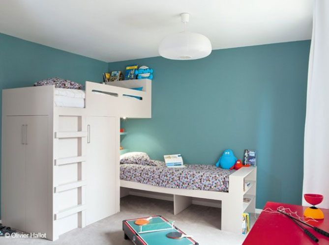 #chambre #bleu #enfants