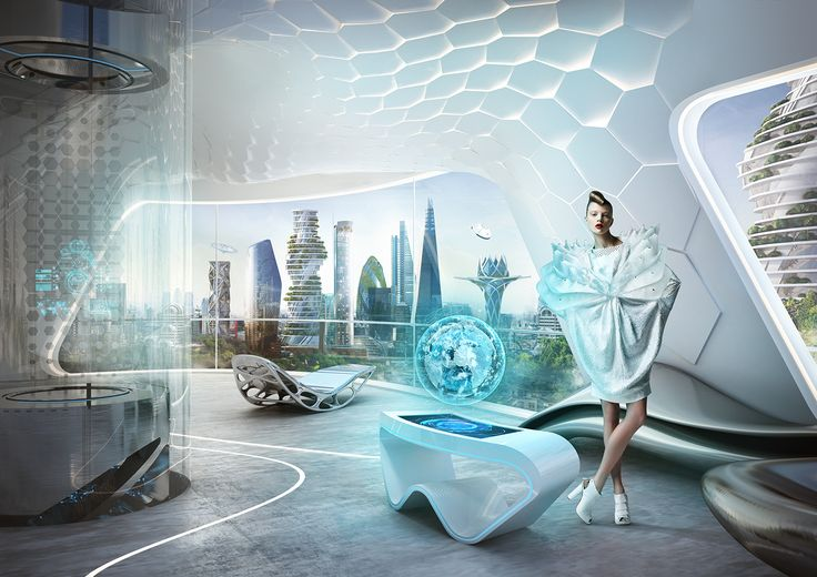 Future London Scene on Behance