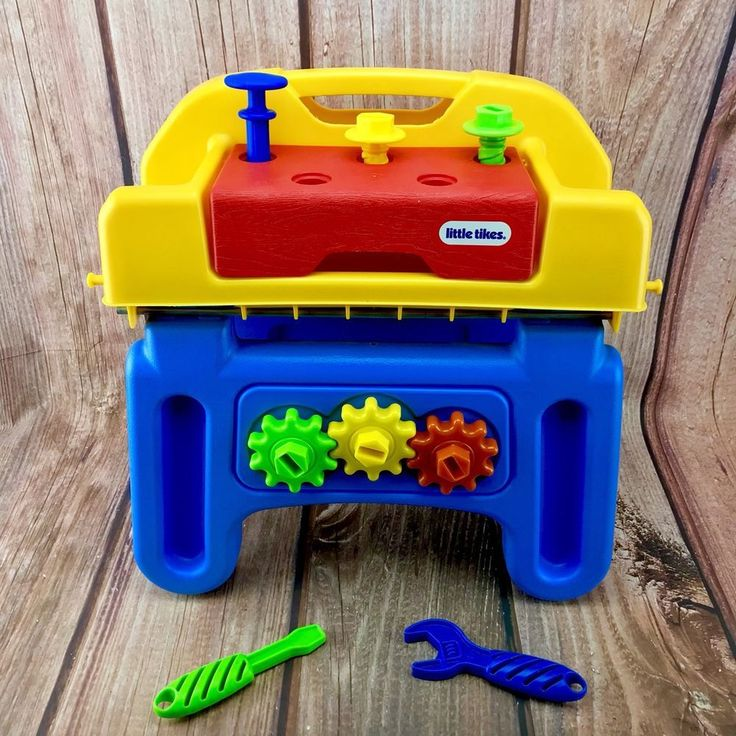 Little Tikes Little Handiworker Pretend Play Work Bench & Tools Kids workhorse