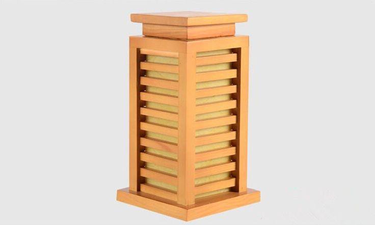 Японский Стиль Деревянный Стол Лампа Ночник Домашний Декоративный Дизайн Спальни…