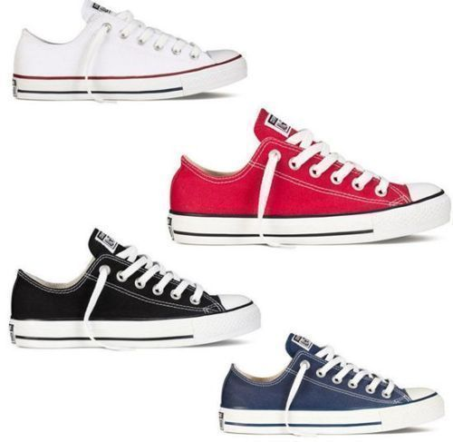 Women Lady ALL STARs Chuck Taylor Ox Low High Top shoes casual Canvas  Sneakers #CONVERSE