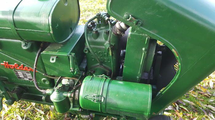 Holder B10 Oldtimer-Traktor - 1952