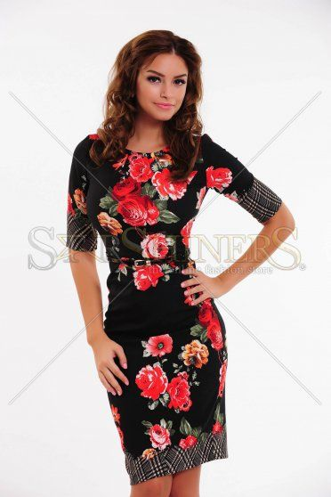 Rochie LaDonna Early Autumn Black