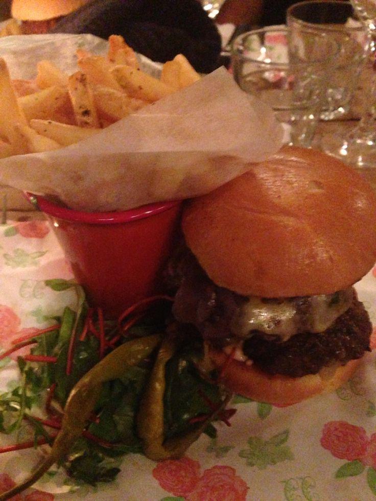 The Hero Burger by Cosy Club, Cardiff. Less hero, more sidekick.