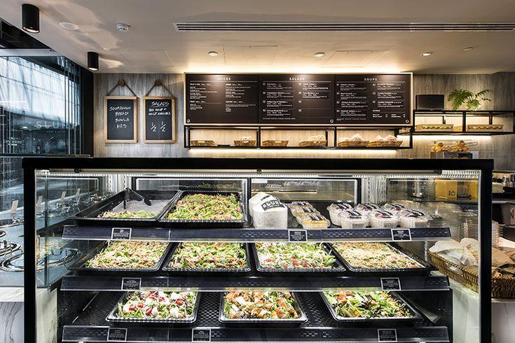 Slurp Soup and Salad Bar, Cloisters Arcade | Mata Design Studio
