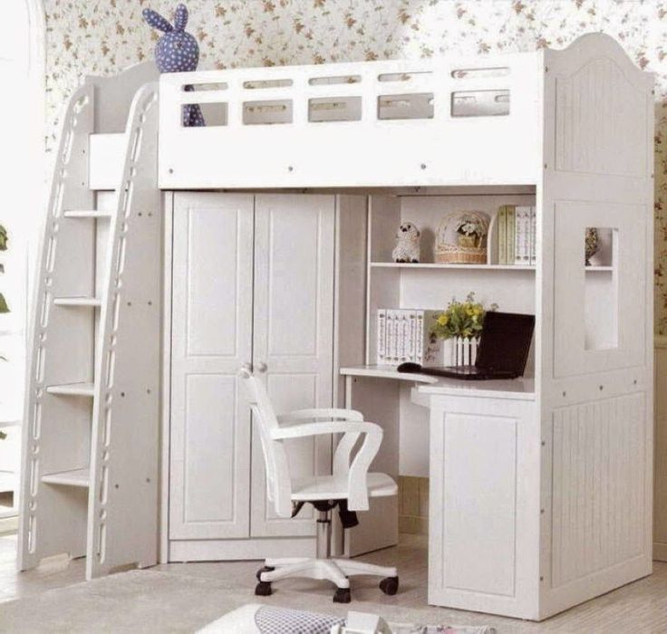 Image Result For Loft Bed With Wardrobe