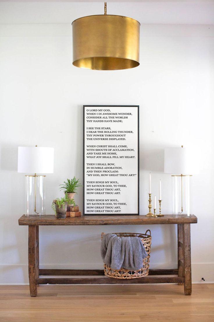 How great thou art hymn lyrics framed wood sign etsy