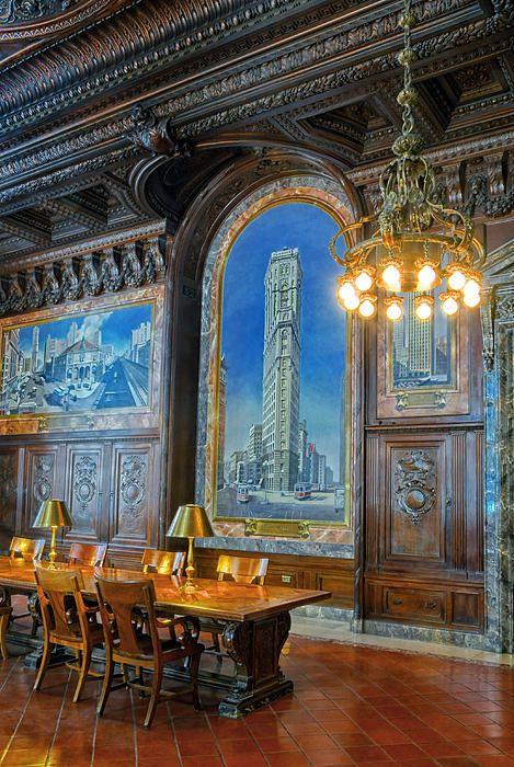 Reading Room Ny Public Library. New York City NYC. Dave Mills
