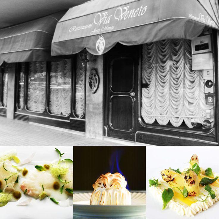 1 star - Restaurant Via Veneto - Barcelona #italianfood #italianchef #italianrestaurant www.100ITA.com