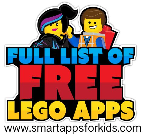 Complete and updated list of FREE LEGO apps for Android! Now 35 FREE!