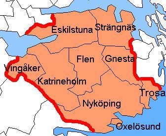 Vingåker Municipality, Södermanland County, Sweden