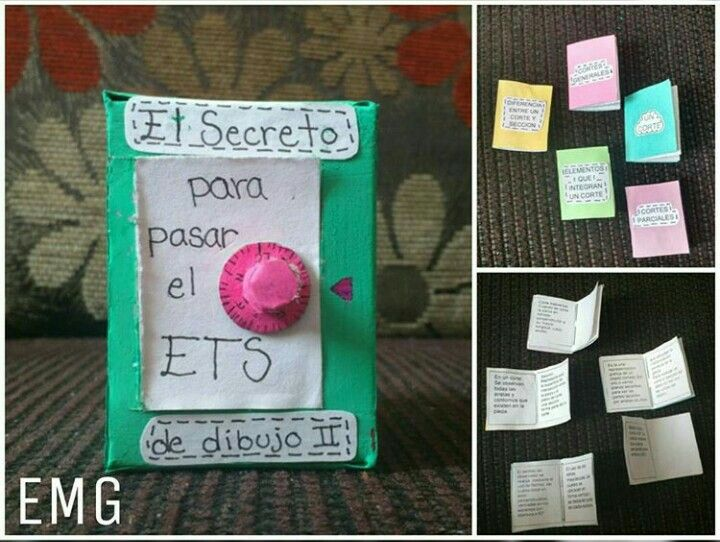 Caja secreta con clave