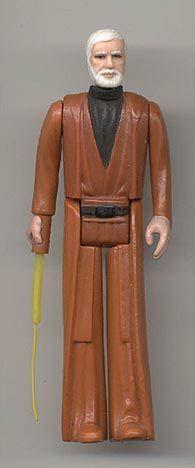 Obi-Wan Kenobi Engineering Pilot with Prototype Double Telescoping Saber - Star Wars Collectors Archive
