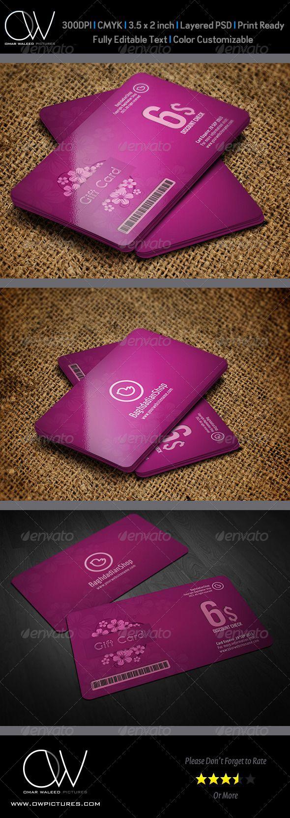 58 best voucher images on pinterest brand identity gift gift voucher card vol 6 xflitez Images