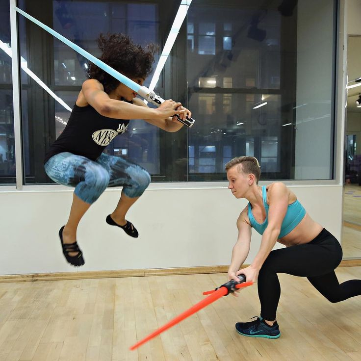 Train like a Jedi with the 'Star Wars' workout. Coming to