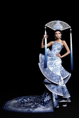 An interview with celebrated Beijing Couturier Guo Pei - from Wall Street Journal: Scene Asia