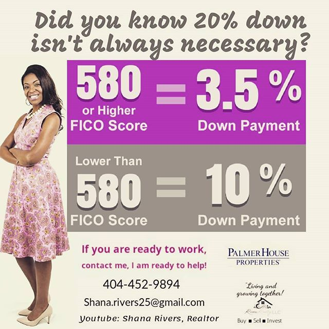 Many people still think it requires a 20% down payment to buy a home but there are companies that offer mortgages with little to no down payment mortgages. For example, a Conventional mortgage requires only 5% down payment (and it can even be gifted to you from a family member). FHA loans require only a 3.5% down payment which can also be gifted. Both of these home loan options also allow for seller paid closing costs.  If your goal this year is to buy a new home, using your tax refund…