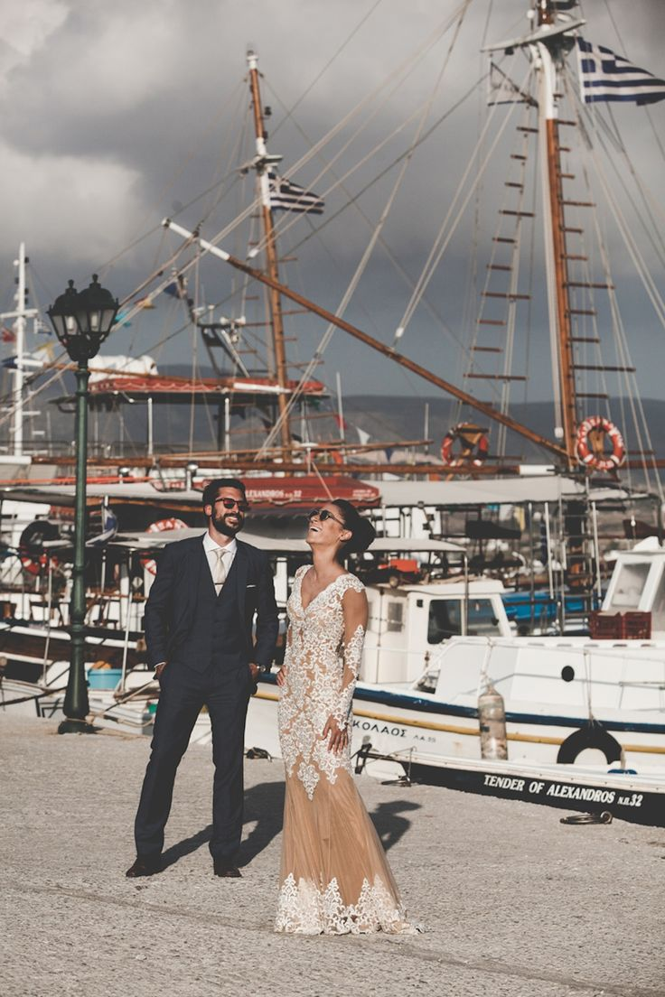 after wedding shooting antiparos boat trip vasia stamatis greece sea