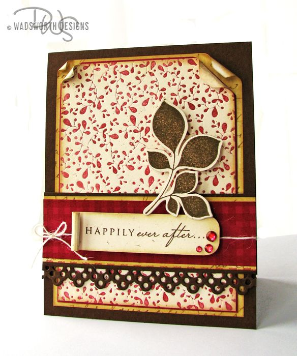 'Happily ever after' card.