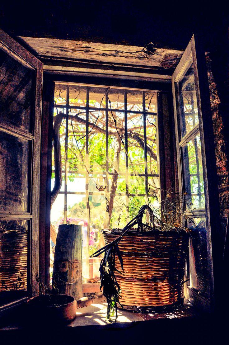Window at Bar Vitelli, Sicily