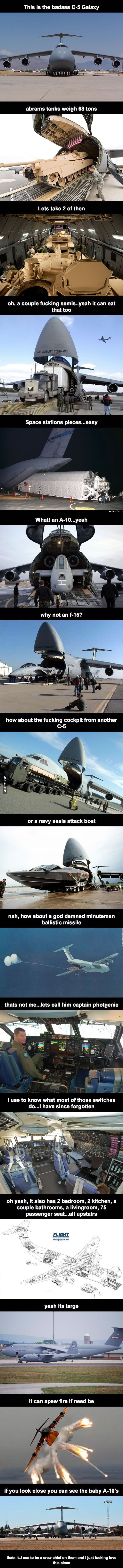 Minus the pic of a C17, it's dope
