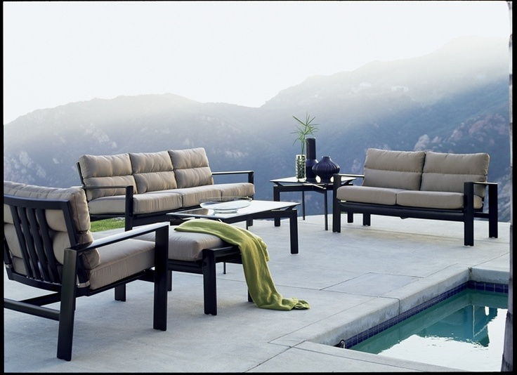 Awesome Parkway Deep Seating Collection From Brown Jordan. #OutdoorFurniture  #Florida #WestPalm #Patio