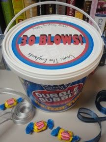 30 BLOWS Thirtieth Birthday Gift